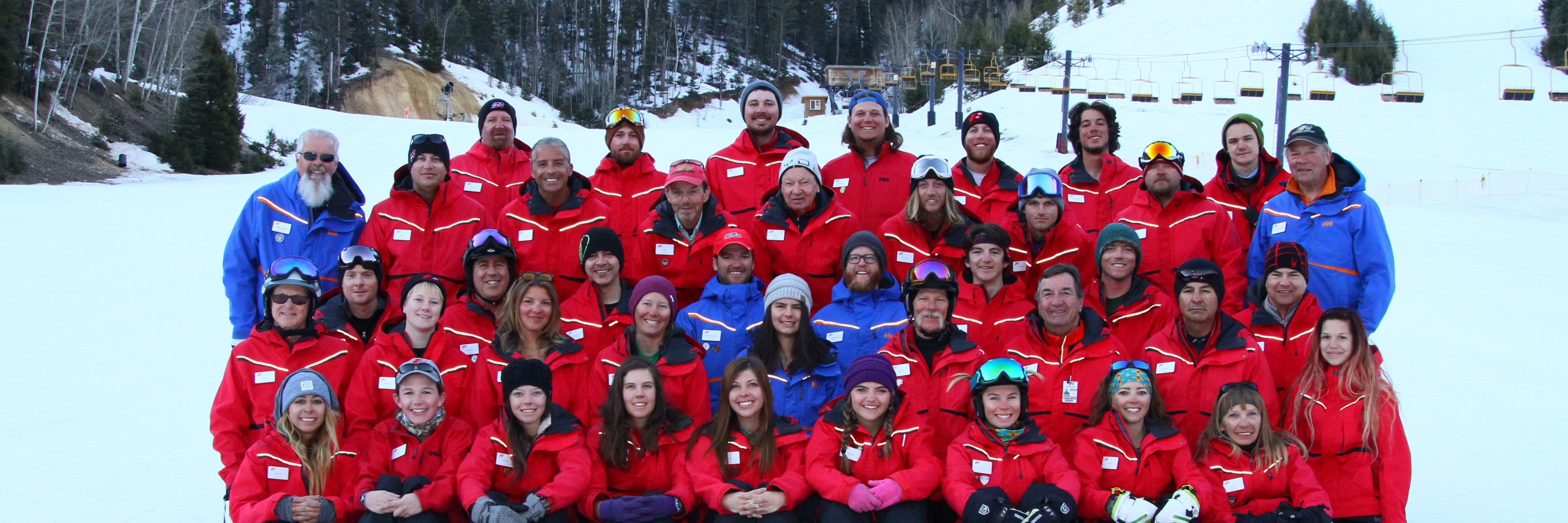 ski coaches promoting employment and good jobs in New Mexico