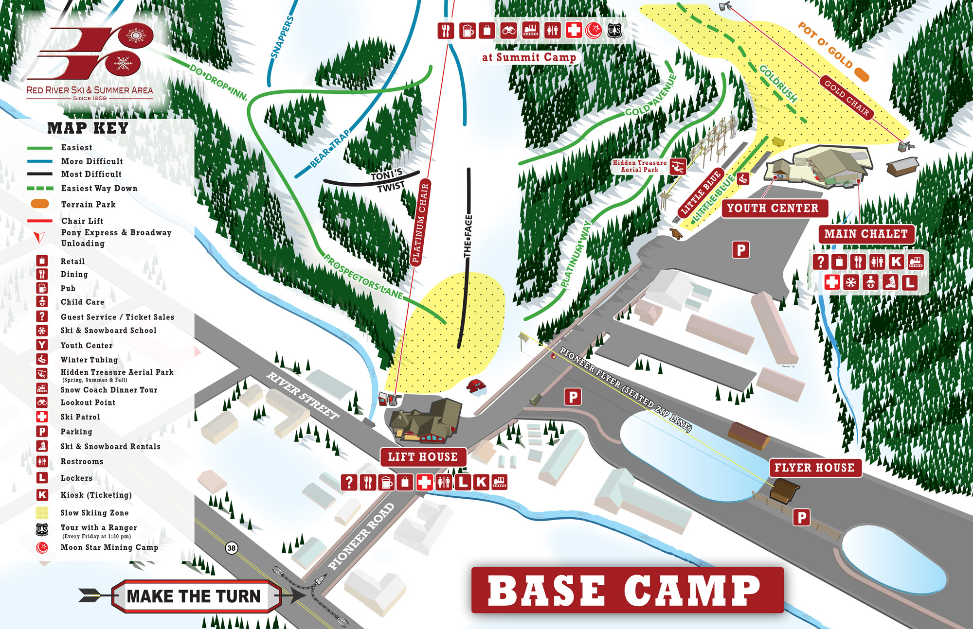 Red River basecamp trail map